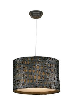 Alita Metal Hanging Shade from Uttermost (21104), $327.00