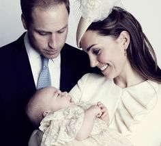 Prince William, Kate and baby Prince George