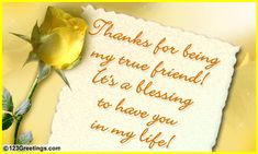 Special Friend... Free Friends eCards, Greeting Cards | 123 Greetings
