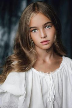 Anastasia Bezrukova is a Russian 11 year-old model from Moscow. (Born on January 5, 2004.)