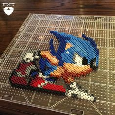 Sonic perler beads by ionurb