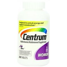 Suplemento Multivitamínico para Mulheres Centrum Ultra Women's - 200 tabletes - Saúde - Beleza e Saúde