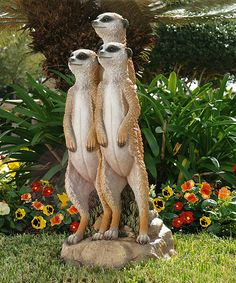 Trust us... you need this in your life. Bring safari charm to your home or garden with this adorable hand-painted statue that's made to last. #onzulilytoday #zulilyfinds