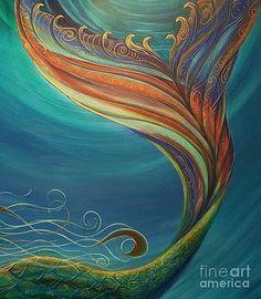 Mermaid Canvas, Mermaid Art, Mermaid Paintings, Mermaid Tail Drawing, Mermaid Tails, Diy Canvas Art, Acrylic Painting Canvas, Acrylic Art, Painting Inspiration