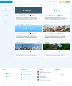 JavyCraft [Blog style] by ~ToRTeEn on deviantART #webdesign