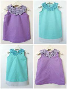cute little doily dress