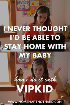Want to stay at home with your baby but can't necessarily afford it? This post details how I was able to stay at home with my daughter by teaching online with VIPKid. I never knew how much I would enjoy teaching online until I had started. Here I share everything you need to know to determine if teaching online is right for you along with details on how to get hired.