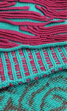 partial knitting. could be done by bridging method?