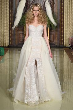 The Best in Spring Bridal Gowns  - ELLE.com - Galia Lahav 2015 (=)