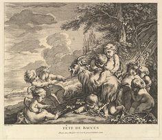 Pierre Alexandre Aveline (French, 1702–1760). The Feast of Bacchus. The Metropolitan Museum of Art, New York. Harris Brisbane Dick Fund, 1953 (53.600.1084)