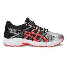 ASICS GEL-Contend 4 Grade School Boys' Running Shoes, Size: 3, Silver