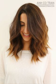 LA: STYLED MESSY AND FUN! Cut/Style: Anh Co Tran. Appointment inquiries please call Ramirez|Tran Salon in Beverly Hills: 310.724.8167