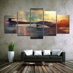 5 Panel Star Wars Canvas  Wall Art Painting - The Best Star Wars Wall Art #home #decor #wallart #art #starwars @ https://starwargift.com/best-star-wars-wall-art/