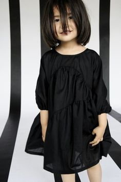Little black dress for the little girl