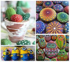 Cómo decorar piedras con pintura. ¿Quieres hacer manualidades creativas gastando muy poco? ¡Has llegado al sitio adecuado! Y es que en unComo creemos que decorar piedras es una idea genial para pasar ratos muy entretenidos y después d...