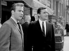 Sixties | William Shatner and Robert Vaughn in The Man From U.N.C.L.E. episode, The Project Strigas Affair