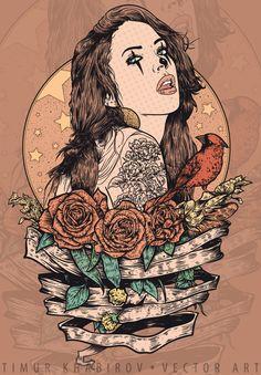 G A N E S H by timur khabirov, via Behance Looks like Megan Fox to be honest,,
