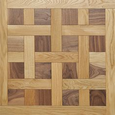 Natural Oak and American Walnut | Cheverny Mosaic Wood Floors | Coswick Hardwood Floors