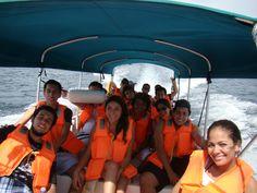 Rumbo a Isla Perro.   To Dog Island