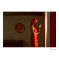 the curtain | La nostalgie d'amour | Horst Kistner | Silent Cube Photography