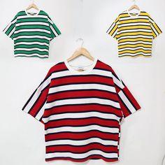 Short-Sleeve Striped T-Shirt