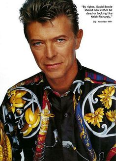 David Bowie and that shirt