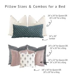 Throw Pillows: The Ultimate Guide to Mixing, Matching & Arranging | gold coast canvas