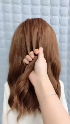 Medium Long Braided Hairstyles -Click the hairstyle link to see Easy Hairstyles For Long Hair, Braids For Long Hair, Bride Hairstyles, Cute Hairstyles, Summer Hairstyles, Medium Hair Styles, Long Hair Styles, Viking Hair, Long Hair Video