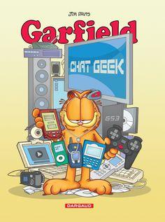 Garfield, tome 54 : Chat Geek Scénario & dessin : Jim Davis Sortie le 10 octobre 2014 #Dargaud #BD #Garfield #Humour