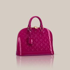 LOUISVUITTON.COM - Alma PM Monogram Vernis Handbags