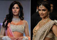 Katrina and Deepika in Sanjay Leela Bhansalis Bajirao Mastani