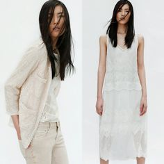 white on white on white -- zara april look book