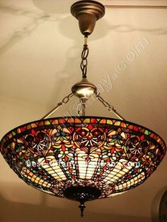 Tiffany big size ceiling lamp $129~$159