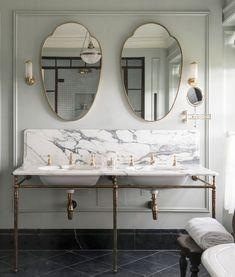 Beautiful Bathrooms, Modern Bathroom, Small Bathroom, Master Bathrooms, Luxury Bathrooms, Small Elegant Bathroom, Modern Classic Bathrooms, Parisian Bathroom, Condo Bathroom