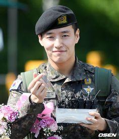 Asian Actors, Korean Actors, Kang Ha Neul Moon Lovers, Kang Haneul, Korean Star, Kdrama, Captain Hat, Baby Boy, Husband