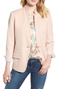 blush blazer / Nords