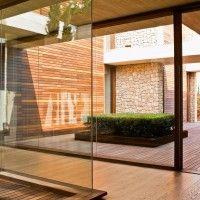 Architect Ramon Esteve has designed a house in Monasterios, Spain.