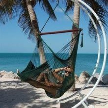Caribbean Jumbo Hammock Chair | Green Color