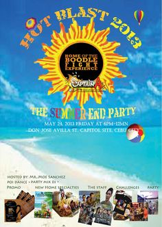 Summer End Party at Captain A's Seafood Grill | CebuFinest