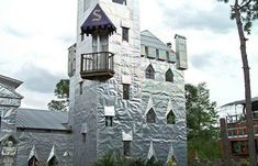 Solomon's Castle is the home and studio of famous sculptor Howard Solomon.  Mr. Solomon specializes in creating art from discarded objects.  The castle is near Ona, Florida in the country northwest of Arcadia.