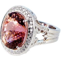 1STDIBS.COM Jewelry & Watches - Emma Quist Jewelry - 15.93 carat pink... ❤ liked on Polyvore