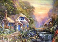 Волшебные домики Джима Митчелла.. Обсуждение на LiveInternet - Российский Сервис Онлайн-Дневников