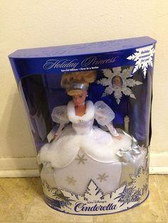 1996 Cinderella Holiday Barbie