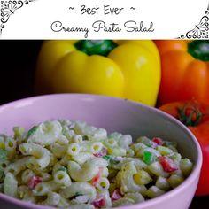 Creamy Pasta Salad Recipe