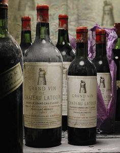 Chateau Latour, Champagne Drinks, Famous Wines, Wine Photography, Wine Education, Grand Cru, Vitis Vinifera, French Wine, Vintage Wine