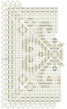 Kira scheme crochet: Scheme crochet no. 3169
