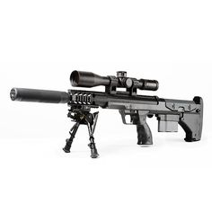 SRS-A1 suppressed .308 bolt-action rifle by Desert Tactical Arms (with ability to change barrels)