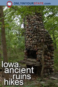 Travel | Iowa | Attractions | USA | Hiking | Ruins | Abandoned US | Adventure | Woods | Nature | State Parks | Iowa Parks | Trails | Easy Hikes | Abandoned Hikes | Nature Center | History | Ancient Ruins