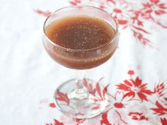 Drinking in Season: Roasted Fig Cocktail | Serious Eats: Recipes - Mobile Beta!""