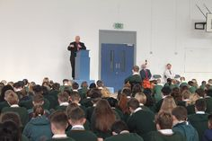 Bishop Colton Marks Start of School Year with School Greetings and Visit to Ashton School Cork All Schools, Cork, Corks
